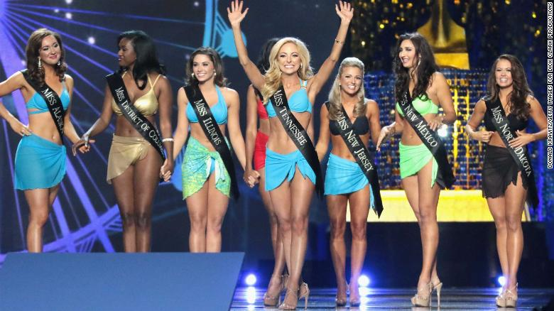 Miss America says 'bye bye' to the bikini