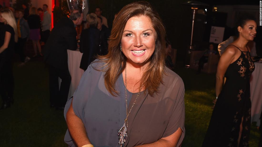 Abby Lee Miller shows off spinal surgery scar