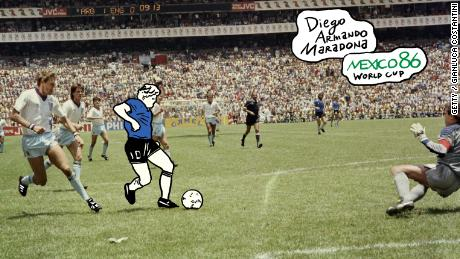 'Goal of the Century': Maradona's 1986 magic