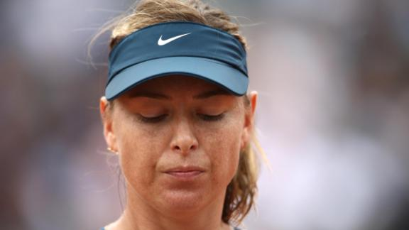 Two-time champion Maria Sharapova, playing her first French Open since returning from a 15-month suspension for taking the banned heart drug meldonium, lost to Muguruza in the quarterfinals.