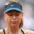 Maria Sharapova out French Open Roland Garros