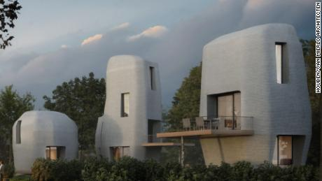 Watch These 3D Printed Homes Being Built