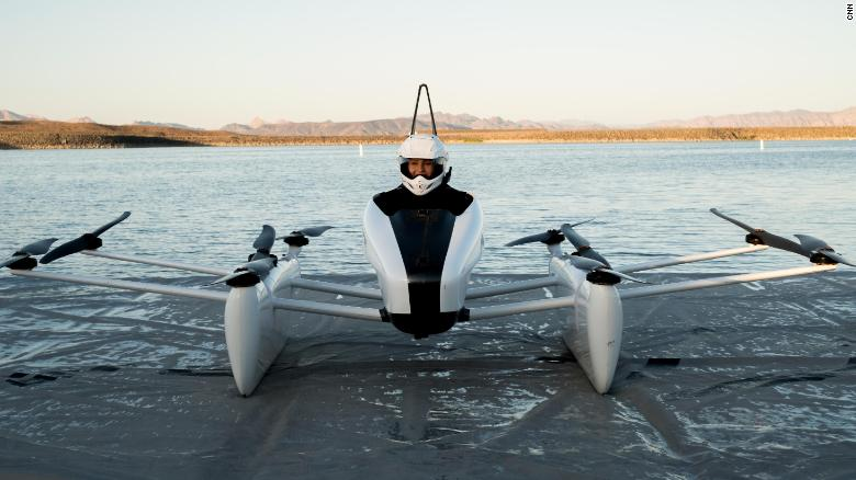 0b6c40c444c We took an exclusive ride in a flying car - CNN