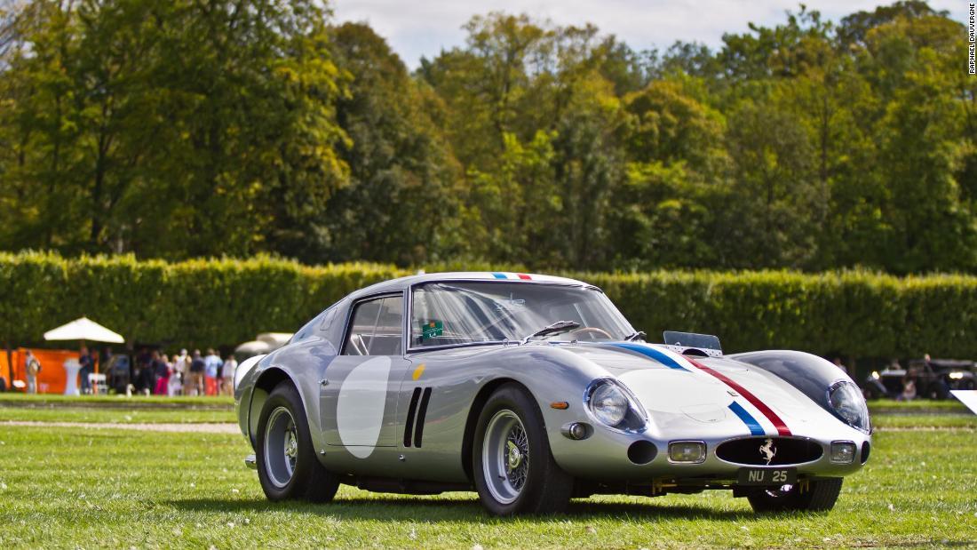 1963 Ferrari 250 GTO Sells For A Record $70 Million   CNN Style