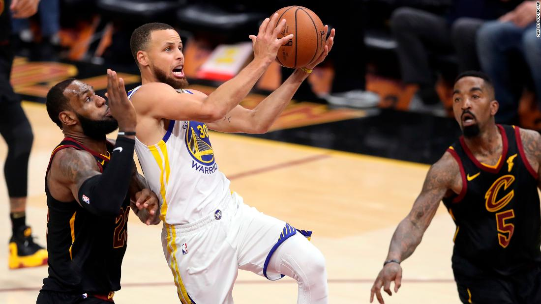 Curry, who paced the Warriors in Games 1 and 2, had an off shooting night in Game 3. He was 1 of 10 from behind the 3-point arc, but his one make came late in the fourth quarter.