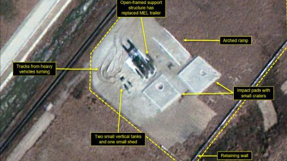 The Iha-ri test site on October 30, 2017.