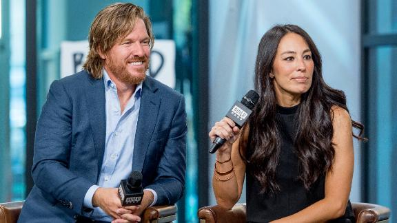 """NEW YORK, NY - OCTOBER 18:  Chip and Joanna Gaines discuss """"Capital Gaines: Smart Things I Learned Doing Stupid Stuff"""" and the ending of the show """"Fixer Upper"""" with the Build Series at Build Studio on October 18, 2017 in New York City.  (Photo by Roy Rochlin/FilmMagic)"""