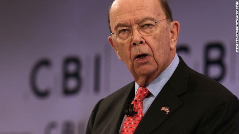 Democrats Slams Wilbur Ross For Secret Campaign Over Citizenship