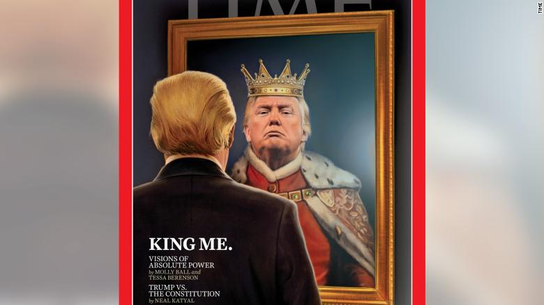 Image result for trump as king