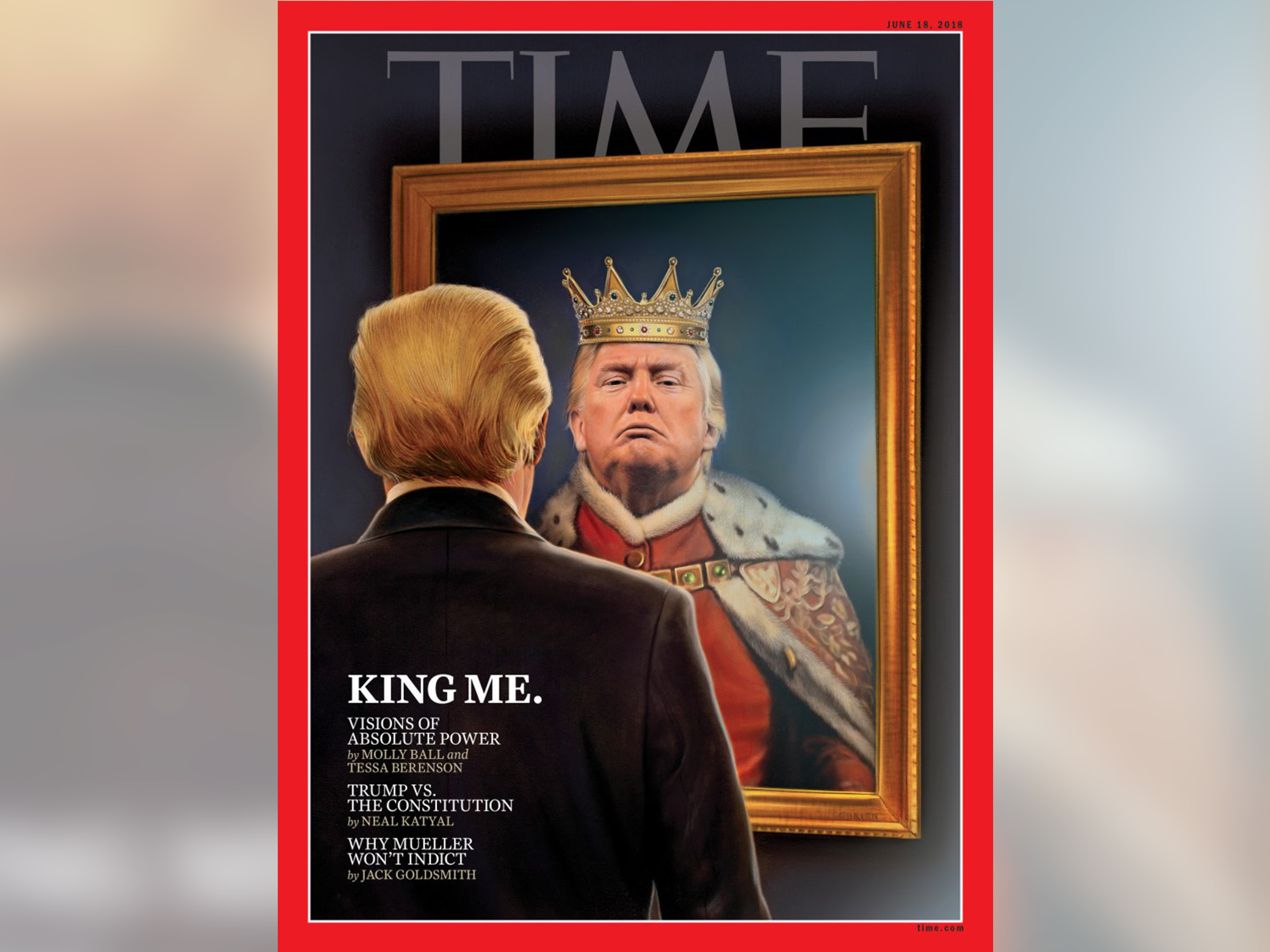 Image result for trump time cover