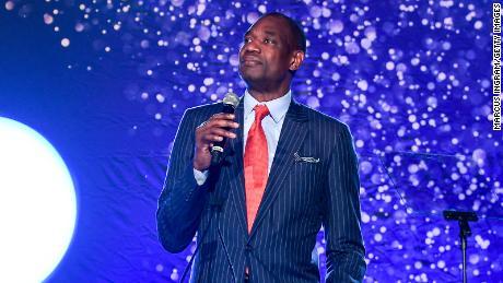 Global Humanitarian Award Honoree Dikembe Mutombo.