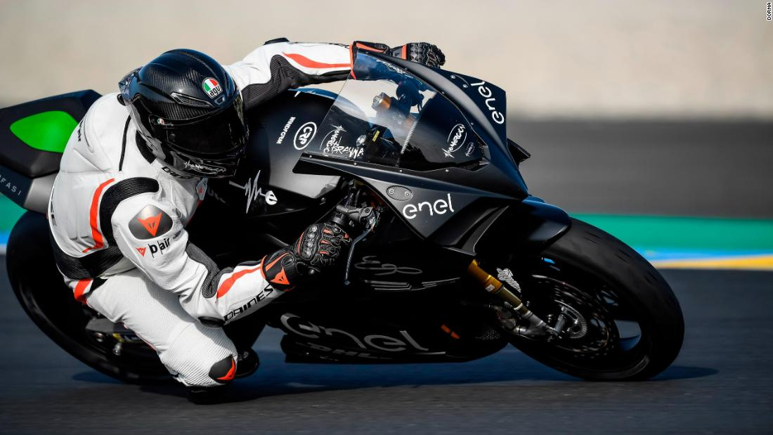 b6fe13d387f From a roar to a whirr -- MotoGP goes electric - CNN