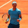 Rafael Nadal French Open Roland Garros quarterfinal celebration