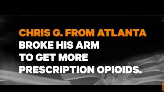 The White House released new advertisements aimed at curbing opioid addiction.