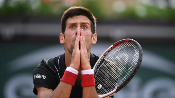 Novak Djokovic is undergoing a slump in his stellar career but was hoping to use the French Open as a springboard for better things. However, he lost out to Italy's Marco Cecchinato in the quarterfinals.