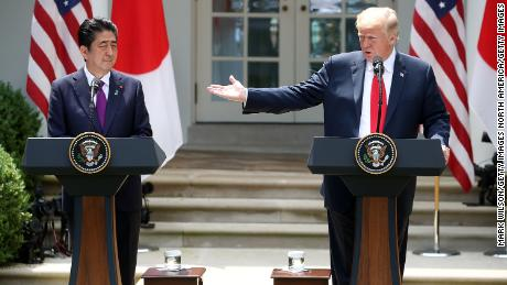 Bad blood between North Korea and Japan keeps Abe on the outs