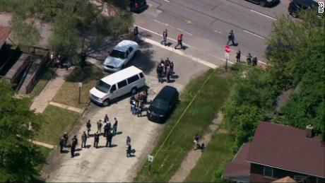 ATF agent reportedly shot in Gary, IN.