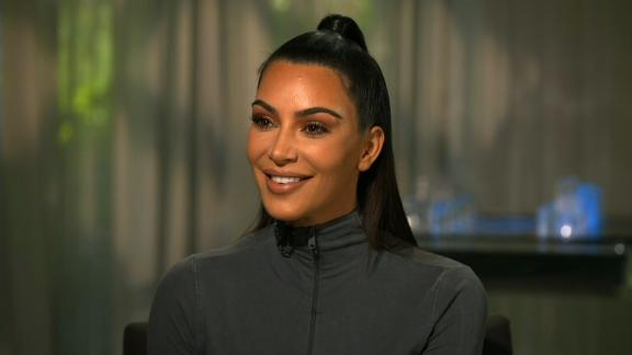 kim kardashian trump joke smiling