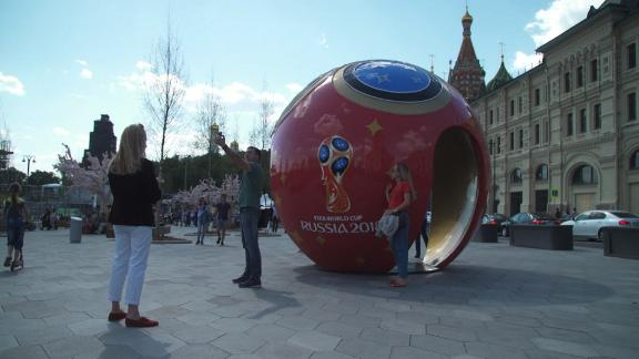 NS Slug: WORLD CUP: RUSSIA IS GETTING READY  Synopsis: Russia is getting ready to host the World Cup, despite tensions with foreign countries.  Keywords: RUSSIA SPORTS WORLD CUP