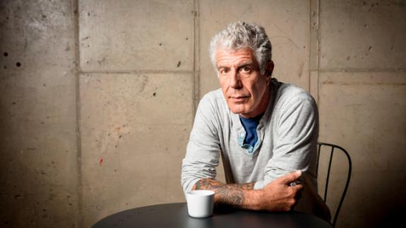Anthony Bourdain films Parts Unknown Queens in New York, New York on November 11, 2016. (photo by David Scott Holloway / ™ & © 2016 Cable News Network. A Time Warner Company. All Rights Reserved.)