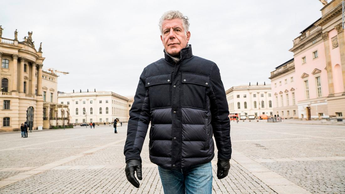 Anthony Bourdain earns posthumous Emmy nominations