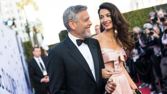 George and Amal Clooney at the AFI 46th Life Achievement Award Gala