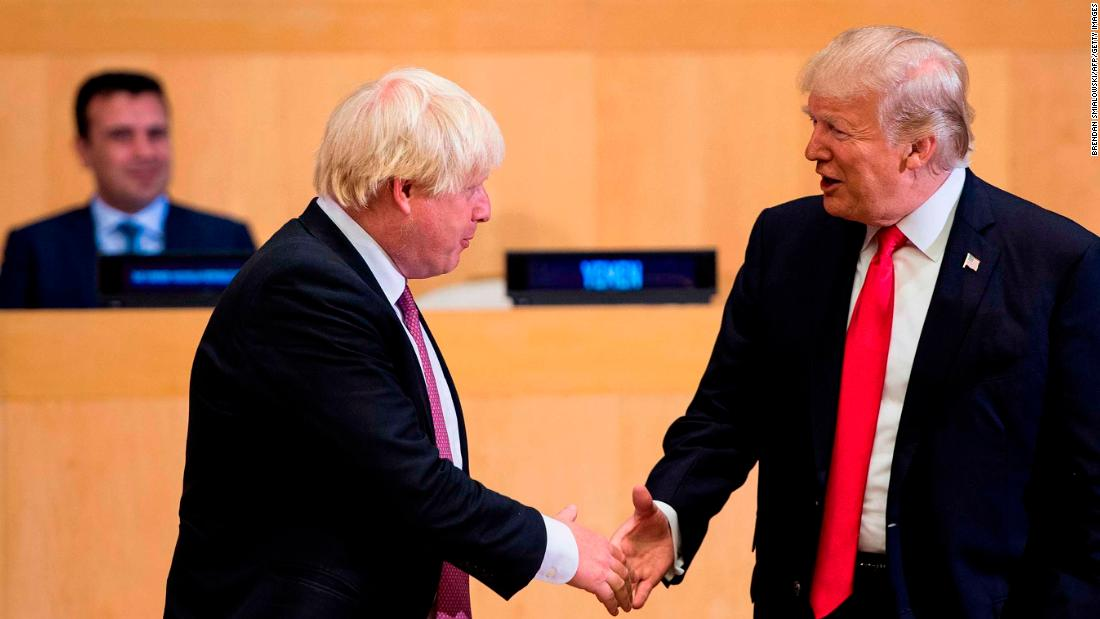 Boris Johnson, the UK's likely next leader, calls Trump's tweets 'totally unacceptable'