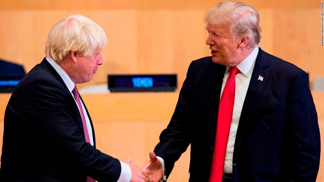 Boris Johnson stakes future on Trump after Brexit. The gamble may break Britain