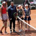 Serena Venus Williams doubles French Open Roland Garros Paris
