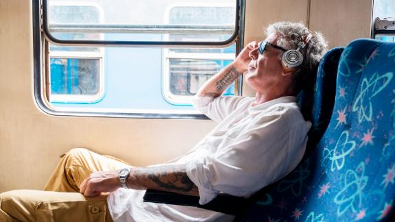 "Bourdain rides a train in Sri Lanka in 2017. Tributes poured in from all over the world after his death. ""Tony Bourdain made the world a smarter, better place, and nobody will forget him,"" tweeted ""Chopped"" host Ted Allen."