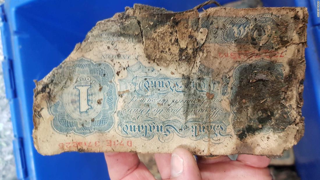 Cash hoard found under floor of Churchill's tailor