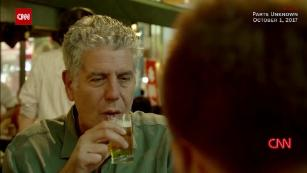 Anthony Bourdain on pushing boundaries
