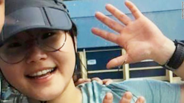 Joohee Han, a Korean woman who was rescued after a week in the Australian wilderness.