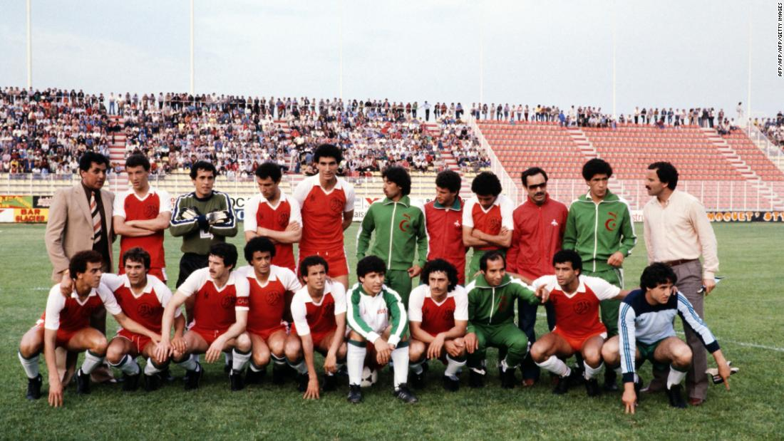 <strong>No. 3: Algeria 2-1 West Germany, 1982 </strong><br />Any Algerian old enough to watch will remember where he or she was when the North A   frican country stunned one of  Europe's powerhouses. Led by an assist and winning goal from Lakhdar Belloumi (front row, 5th L), Algeria pulled off the inconceivable, becoming the first African team to beat a European team in its first-ever World Cup match. West Germany eventually lost to tournament winners Italy in the 1982 final.