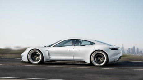 See Porsche S First Fully Electric Car