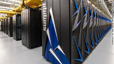 Summit, the world's most powerful supercomputer, modeled how different drug compounds might prevent the coronavirus from spreading to other cells.