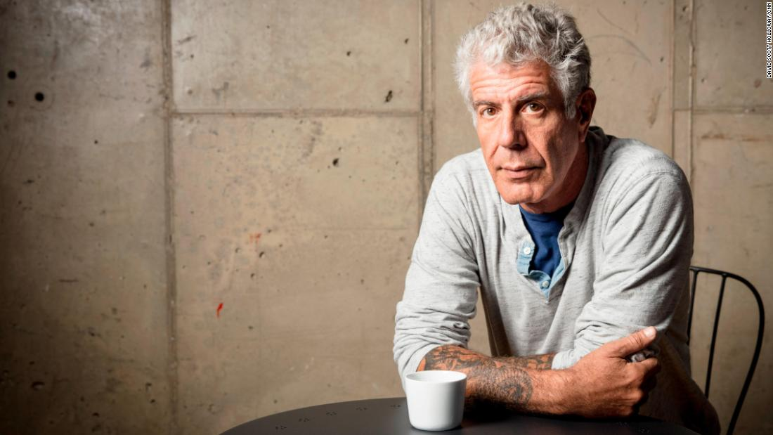 Cooper pays tribute to Anthony Bourdain