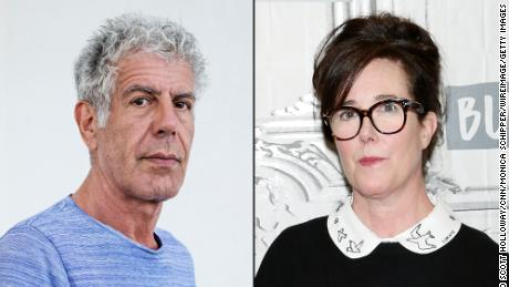 Anthony Bourdain and Kate Spade both took their lives in the past week.