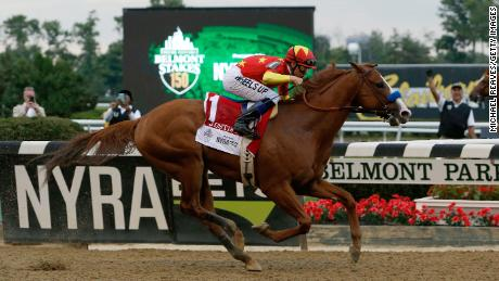 The final chapter in this year's controversial Triple Crown