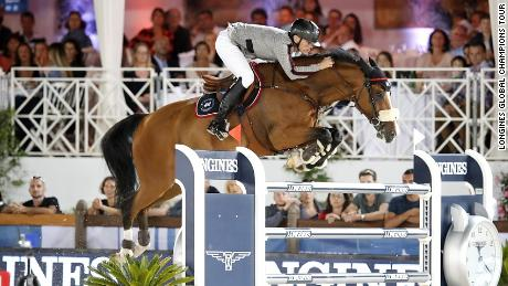 Peder Fredricson took the Cannes round of the Longines Global Champions Tour with a superb clear round in the jump-off