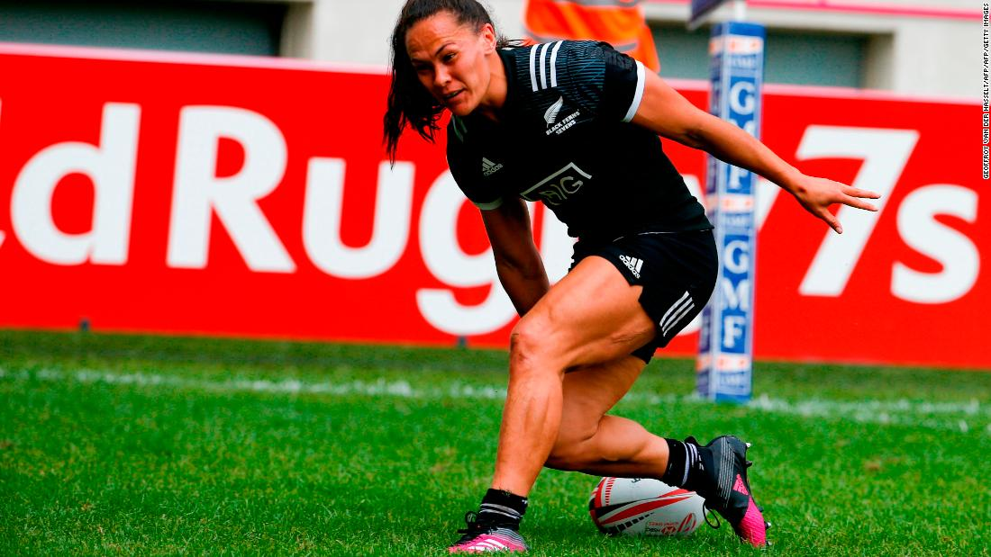 Portia Woodman bagged two tries in the Paris final, which ended 33-7 in favor of the Black Ferns. Despite three tournament wins, however, they couldn't defend their championship title.