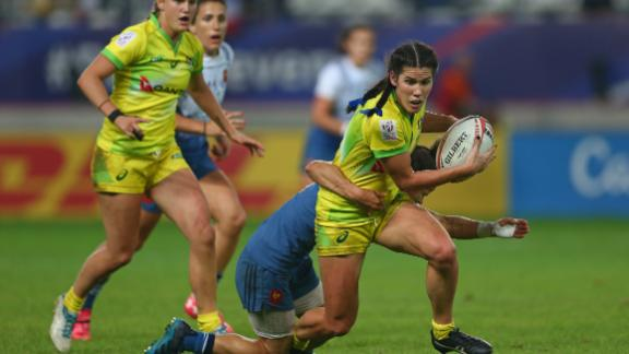 A runner-up finish for Australia in Paris was enough to secure the overall women's title ahead of rivals New Zealand.