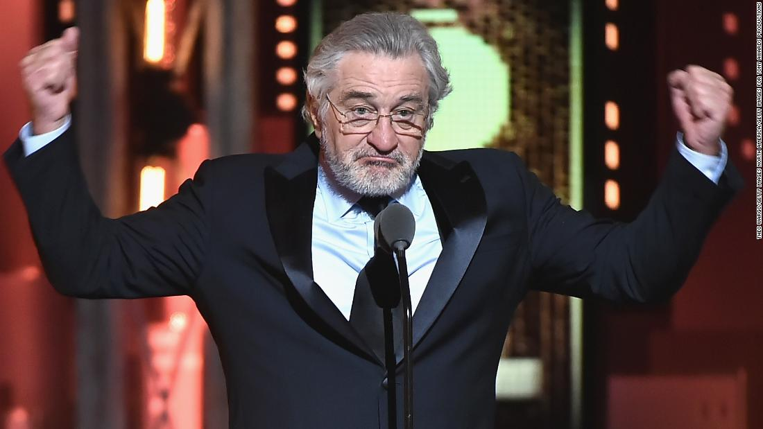 Robert De Niro's Trump comments at Tony Awards go viral – Trending Stuff