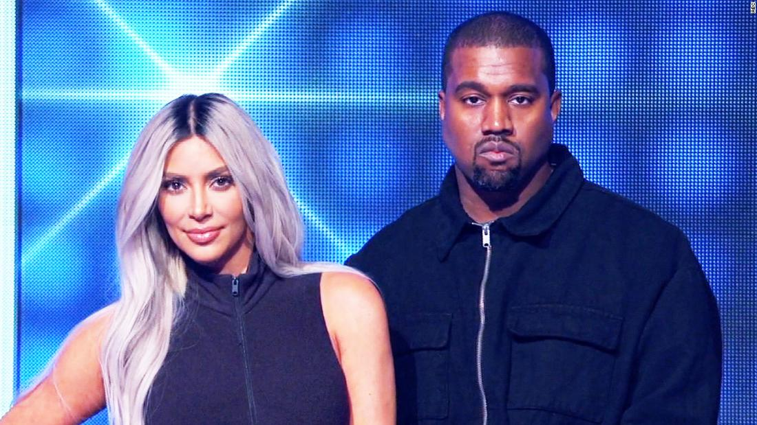 Watch Kim and Kanye play 'Family Feud'
