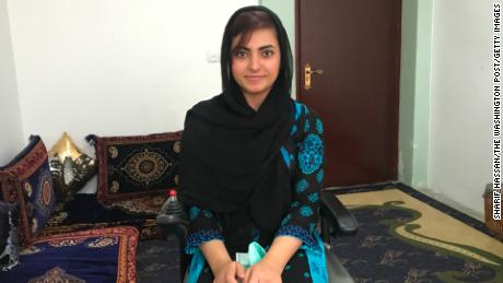 Breshna Musazai graduated with a bachelors degree from the American University of Afghanistan.