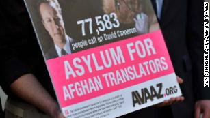 Afghans who aided US forces now desperately need help in return