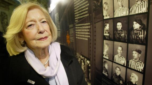 Gena Turgel treated young diarist Anne Frank at the Bergen-Belsen concentration camp.