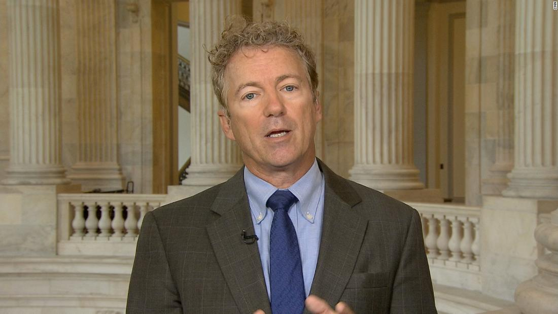 Rand Paul: Lindsey Graham a danger to country - CNN Video
