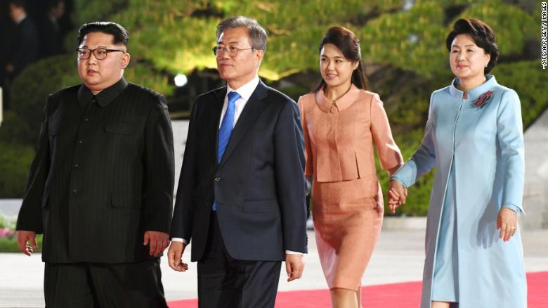 wife Kim jong un