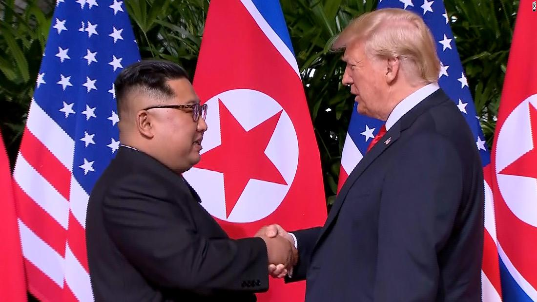 North Koreans insisted on parity in all aspects of Trump-Kim summit, official says